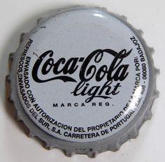 Coca-Cola Light. Embotellada en Badajoz