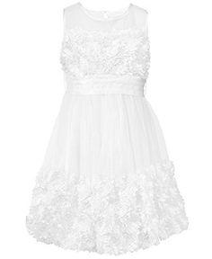 Bonnie Jean Kids Dress, Little Girls Flower Girl Dress - Kids Dresses & Dresswear - Macy's