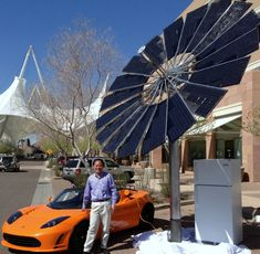 Professor Hui & the Monarch Lotus Mobile (Photo: Business Wire)