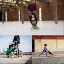Longboard stroller: nuevo concepto de movilidad urbana #skate #buggy #stroller #baby #ecodesign #industrialdesign