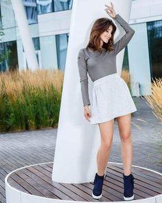 White Dress, Instagram Posts, Sweaters, Dresses, Fashion, Vestidos, Moda, Fashion Styles, Sweater