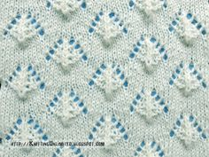 Lace Stitches for Spring 2016 - Pattern 9/10 - Knitting Unlimited