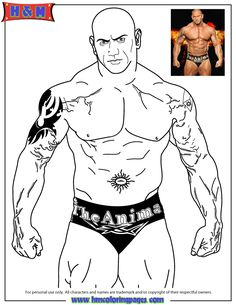 Free Printable WWE Coloring Pages For Kids | WWE Coloring printables ...