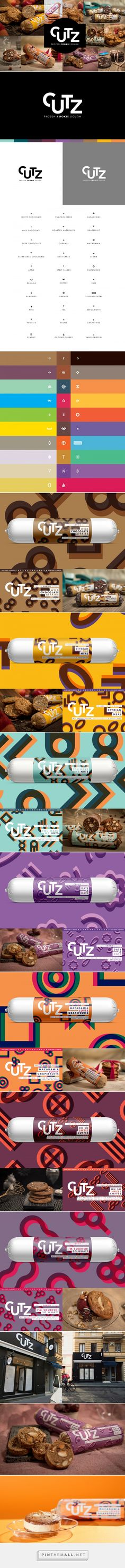 CUTZ Cookie Dough on Behance... - a grouped images picture - Pin Them All