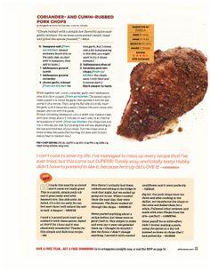 ... Pork recipes on Pinterest | Grill Pork Chops, Pork Chops and Ginger