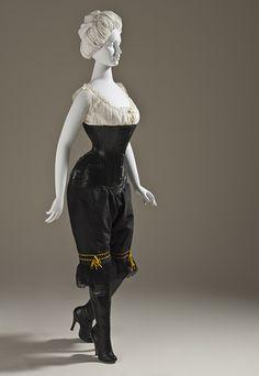 Fetish underwear ca. 1900 via The Los Angeles County Museum of Art