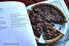 Mommy's Kitchen - Recipes From my Texas Kitchen!: Miss Kay's Honey Pecan Pie {Perfect for Thanksgiving}