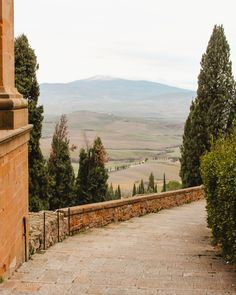 It's hard to beat the beauty of Tuscany with its rolling hills, cypress lined roads and hilltop towns. As much as I love visiting Tuscany in summer to see Oh The Places You'll Go, Places To Visit, Tuscany Italy, Sorrento Italy, Naples Italy, Sicily Italy, Amalfi Italy, Verona Italy, Venice Italy