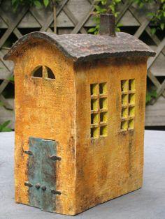 love the colors; Railway house, Marike Hoekstra little art house