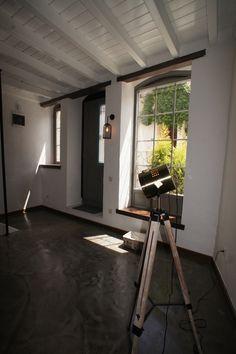 Renovated Old Stone House, Entrance, Epoxy Flooring