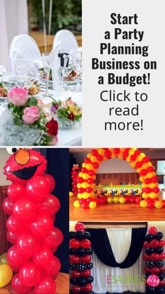 Love decorating and party planning? Why not start a party planning business? This would be a great side hustle to start on a budget! #partydecorations #partyplanning #partyplanningbusiness