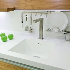 dupont corian solid surface countertops with seamless integrated sinks and a built in drain board kitchens pinterest google solid surface countertops : corian kitchen top
