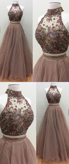 64def6ccf788a Gorgeous Magnificent Long Prom Dresses, Two by ModelDressy on Zibbet Brown  Prom Dresses, Prom