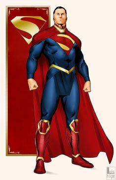 Batman Vs Superman, Superman Artwork, Superman Family, Superman Man Of Steel, Superman Suit, Superman Cosplay, Dc Comics Superheroes, Dc Comics Art, Marvel Dc Comics