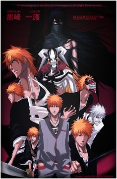All the faces of Ichigo Kurosaki SPOILER: No, Zangetsu-san, why are you the ancient quincy-leader?!!! My life is a lie T-T