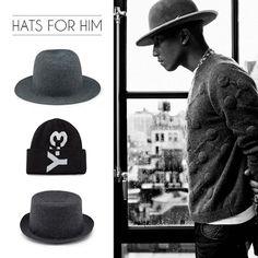 Visita il nostro online shop e acquista il cappello perfetto per completare il tuo look. Head's up! Visit our online store and shop the perfect hat to complete your look.
