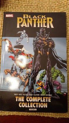 MARVEL COMICS BLACK PANTHER COMPLETE COLLECTION VOL 2 TRADE PAPERBACK TPB: $19.95 (0 Bids) End Date: Tuesday Apr-24-2018 16:50:49 PDT Bid…