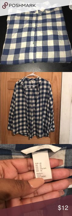 Lumber Jack Button Down Shirt Blue and White Lumber Jack shirt. Brand New, Never Worn, but unfortunately I took off the Tags. No problems, stains, etc. Other