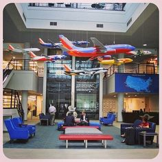 SWA Headquarters Lobby.  I miss working at HDQ...