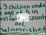 Fighting Malnutrition   One in five kids under the age of 5 in developing countries are malnourished...