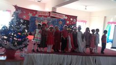 CHRISTMAS CELEBRATIONS A special assembly for X-Mas was presented by Preprimary Students as on 22-Dec-2015 to celebrate Christmas.