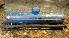 TYCO - HO SCALE - REFINING CO - SINGLE DOME TANKER - TRAIN FREIGHT *143 #TYCO