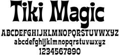 Hawaiian Luau Font | tiki type try this font view fonts font specimens fonts