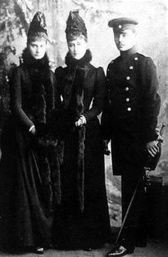 Alix of Hesse, Elizabeth Feodorovna and Ernst of Hesse