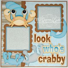 Premade Scrapbook Page Layout Paper Piecing by bljgravesstudio