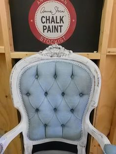Paint Me White: Painting Fabric (Velvet) With Annie Sloan Chalk Paint