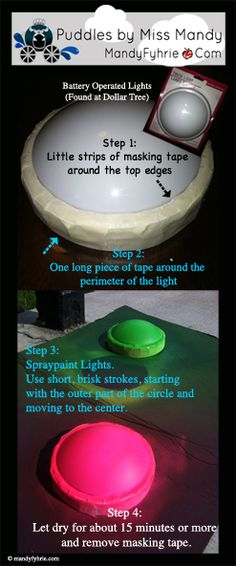 Step-by-Step for a Light-up Stoplight -- So much less expensive than trying to find one (and I couldn't find one that all three lights worked!)