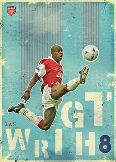 Ian Wright of Arsenal wallpaper.