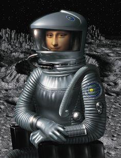 Gioconda 2001 [David Teixidor] (Gioconda / Mona Lisa)