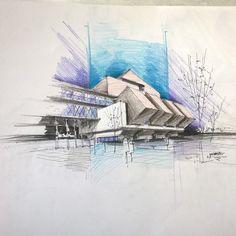 """""""Speedy conceptual sketch Color pencil A3"""""""