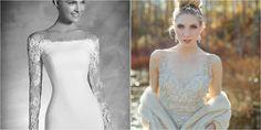 Vestidos novia invierno, ¡más que razones para casarse en esta época!