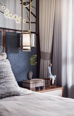 Modern Bedroom Ideas - Trying to find the best bedroom style ideas? Use these beautiful modern bedroom ideas as inspiration for your own magnificent decorating system . Home Bedroom, Bedroom Decor, Bedroom Ideas, Zen Interiors, Ideas Dormitorios, Motif Art Deco, Hotel Room Design, Luxurious Bedrooms, Bedroom Designs