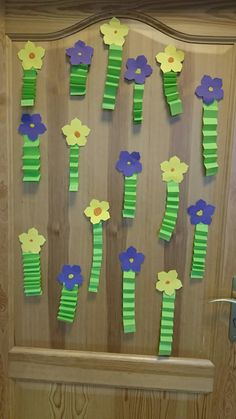Kwiatki flowers art activities for kids