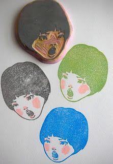 Portrait Stamp // I WANT ONE <3