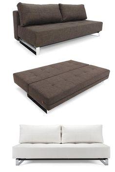 Sleeper: Super Lounger | Modern Furniture | Zinc Details