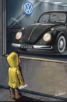 Best classic cars and more! Volkswagen New Beetle, Vw Bus, Vw T1 Camper, Auto Volkswagen, Combi Wv, Van Vw, Kdf Wagen, Vw Vintage, Bentley Continental Gt