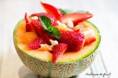 Bolée de melon, fraises et feta par histoire de fruit #BattleFood