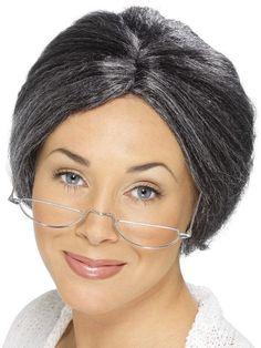 Smiffy's Granny Bun Wig