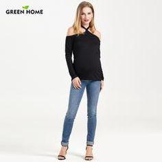 8fb10186715da Cotton Short Sleeve Nursing Top | Stylish Pregnancy | Pinterest ...
