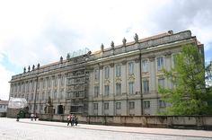 Hauptfassade Residenz Ansbach
