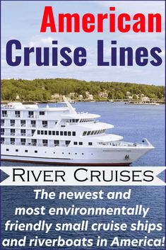 American Cruise Lines Brings Simple Elegance to River Cruising! - Learn all about elegant river cruising on an American Cruise Line Vacation! Cruise Travel, Solo Travel, Travel Usa, Cruise Vacation, Vacation Ideas, Vacation Spots, American Cruise Lines, American Cruises, Travel Checklist