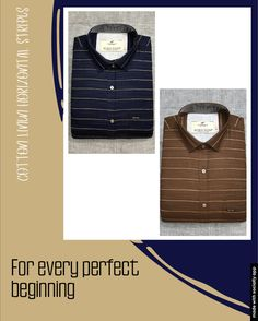 Casual Wear, Casual Shirts, Stripes, Cotton, Mens Tops, T Shirt, How To Wear, Fashion, Casual Outfits