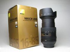 Nikkor zoom 16-85mm lens