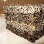 Makové rezy s makovou plnkou • recept • bonvivani.sk Banana Bread, Food And Drink, Chocolate, Desserts, Schokolade, Deserts, Dessert, Postres, Chocolates