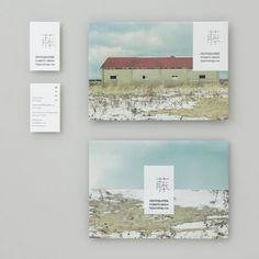 Business Cards and Envelopes from Photos by Kishino Shogo