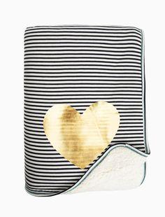 Give Joy Stripe Blanket